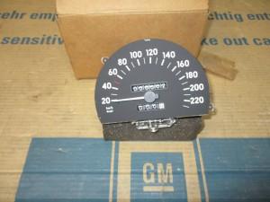 Tachometer  Omega A  12 60 345