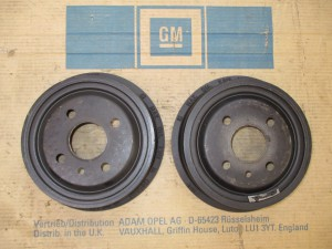 Bremstrommel hi. 200mm Opel Kadett B-C-Manta-Asc. A-B  5 68 057