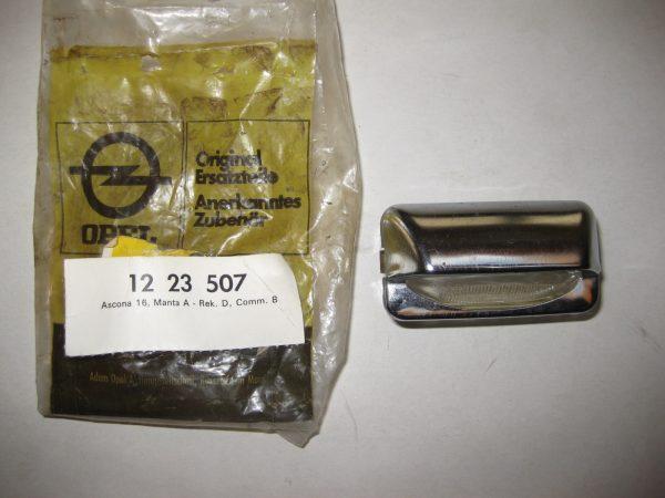 Kennzeichenlichtglas Manta-Asc. A-Rek. D-Com. B 12 23 507