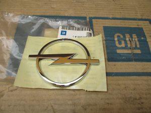 Opel-Emblem hi. Tigra A 1 28 458