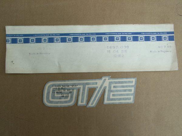 GTE-Streifen an Front 11 04 811
