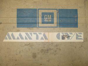 Schrift MANTA GT-E Manta B 1 72 785