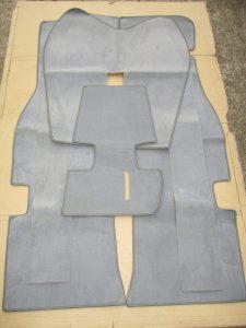 Teppichanlage grau kmplt. Manta A