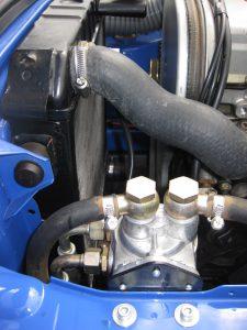 Ölverlegungsteile 16V  GT
