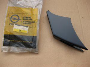 Stoßstangenhorn hinten  schwarz  Opel GT  17 52 716