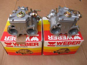 Weber-Doppelvergaser  DCOE