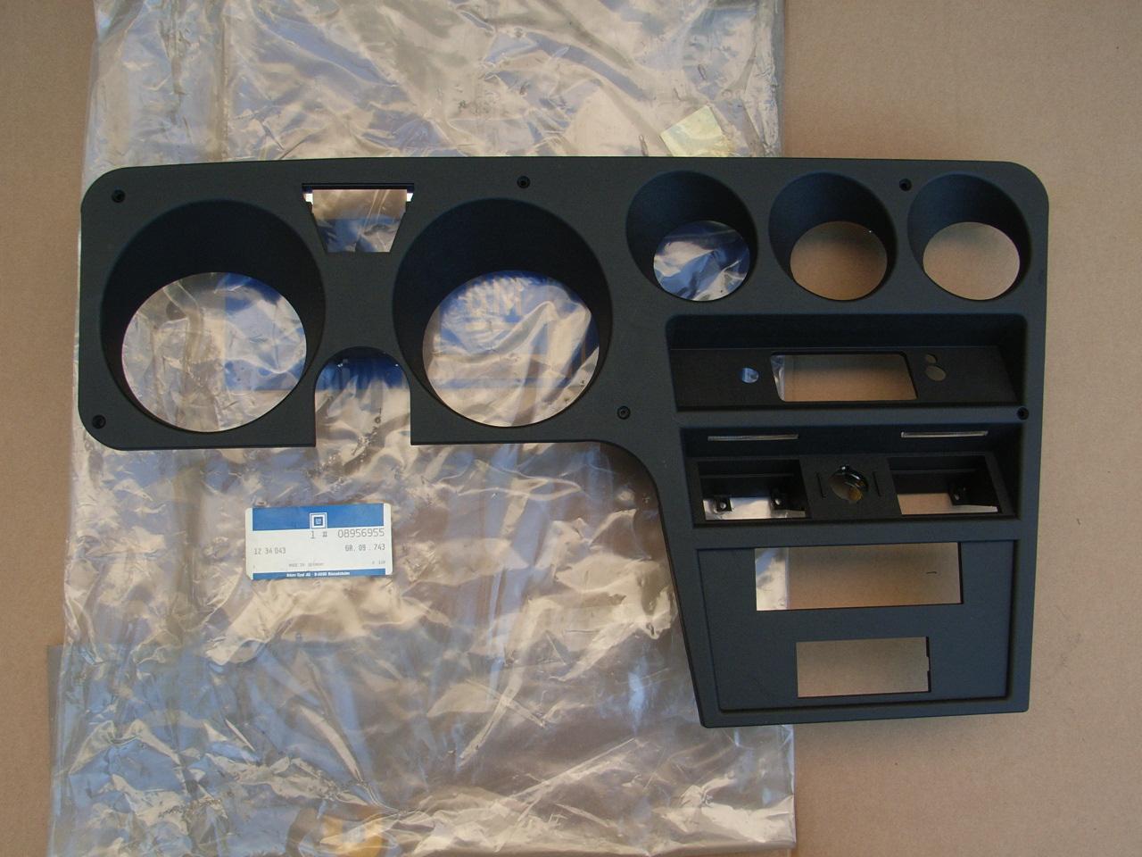 opel gt – armaturentafel (original-opel) neu | atz opel-ersatzteile