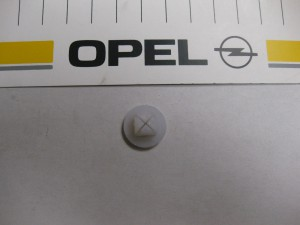 Stopfen Nr.-Schild  Opel  11 88 300