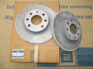 Bremsscheibe v. 256mm  Astra G  5 59 058