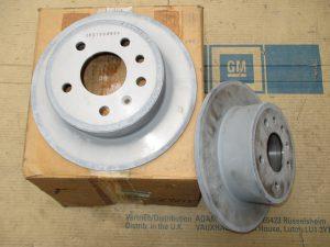 Bremsscheiben hi. 270mm  Omega B-Sen. B  5 69 101