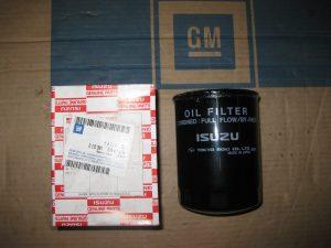 Ölfilter Monterey-Frontera-Campo-Isuzu 6 50 391