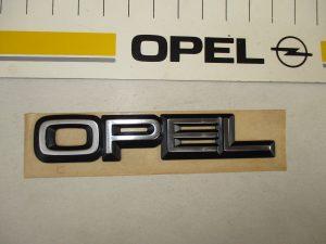 Schrift OPEL hi. Omega A-Senator B 1 77 097