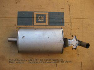 Auspufftopf mitte Kadett C 8 52 160