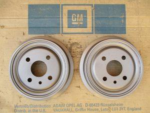 Bremstrommel 200x36mm GT-Kadett A-B 5 68 037