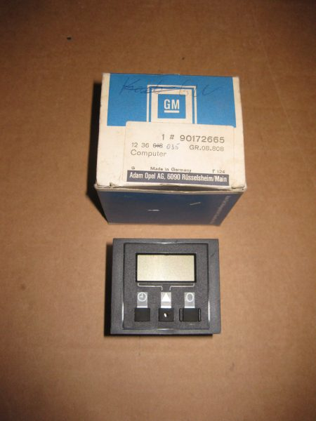 Bordcomputer Kadett E 12 36 035
