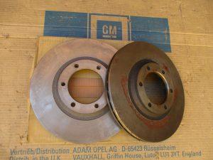Bremsscheiben bel. 251mm Isuzu Midi-Trooper 42 94 497