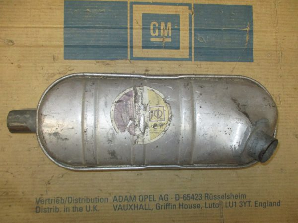Auspuffmitteltopf GT 8 52 150