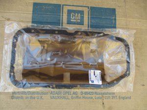 Ölfangblech m. Dichtung Astra F-Calibra-Omega A-B-Vectra A-B 6 52 274